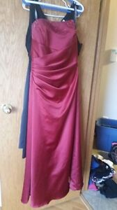 Alfred Angelo Red Corset Dress