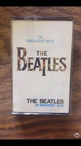 Collectible cassette tapes(5)