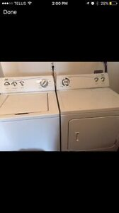 Trade Inglis Heavy Duty washer and dryer for 12 -14 ft aluminum