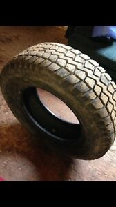 255/70R18 studded winter tires