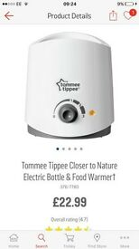 Tommee tippe food and bottle warmer
