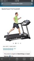 Treadmill - Nordictrack T7.0 like new REDUCED
