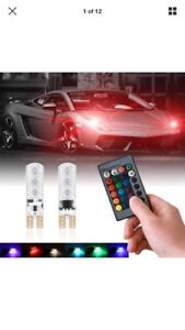 Multiple Colour T10 Led with remote control