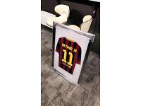 Signed Barcelona Neymar shirt