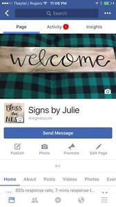 Signs by Julie