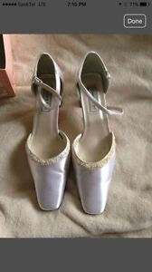 Satin Bridal Shoe