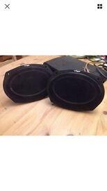 Vibe slick 6x9 speakers - 420 watts each