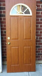 Brown Exterior Door Windsor Region Ontario image 1