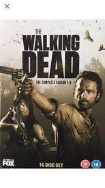 The walking dead 1-4