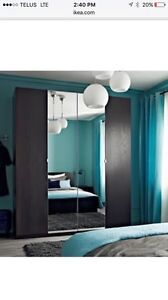 Ikea mirror doors