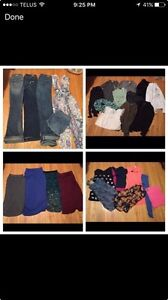 Box of woman's clothes
