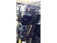 Honda NC700/750 S MRA Touring screen.