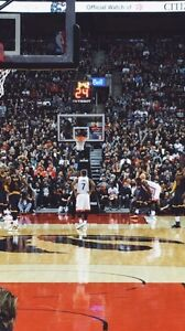 Toronto Raptors Tickets - LOWER BOWL ROW D