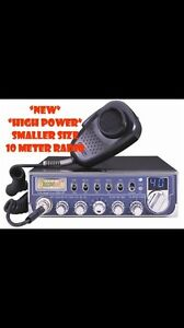 (NEW) HIGH POWERED DUAL MOSFET CB RADIO