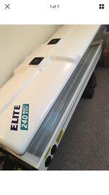 Elite double sunbed canopy 240watt lie down home look cheap like new