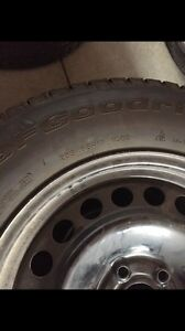 4 Like New BF Goodrich Winter Tires with Rims  Strathcona County Edmonton Area image 2