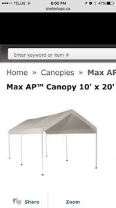 All purpose canopy Strathcona County Edmonton Area image 1