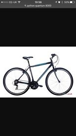 Python Quantum 8000 Gents Hybrid Bicycle
