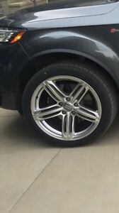 Audi Q7 SLine rims for sale