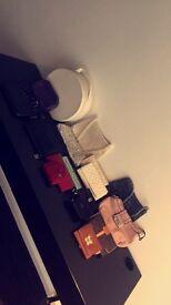Women's purses, clutch bags and handbags
