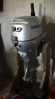 Outboard Motor 9.9 HP HONDA four stroke with electric start