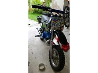 Mini motor dirtbike