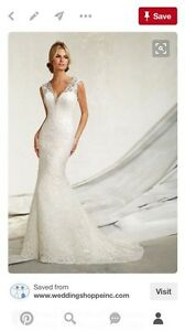 Designer wedding gown Sarnia Sarnia Area image 1