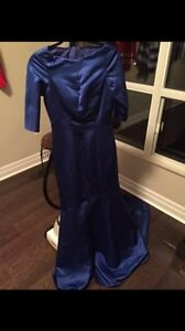 Blue formal gown  London Ontario image 1