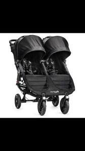 City Mini GT Double Stroller (Black)