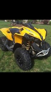 Can Am Renegade 500, 2014, seulement 1400 km