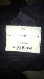 stone island jeans/chinos