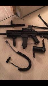 Tippmann a5 paintball gun marker