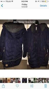 Winter coat womens size SMALL