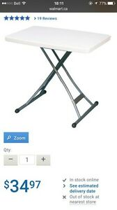 Fold out / adjustable craft table  London Ontario image 1