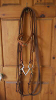 Western Bridle/Headstall with Bit & Reins - Draft