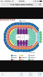 Oilers vs Detroit March. 4 great seats!! Strathcona County Edmonton Area image 1