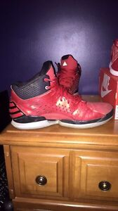 Addidas basketball shoes           Trade or cash  Windsor Region Ontario image 3