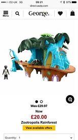 Zootropolis Rainforest Playset