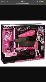 Monster High draculaura coffin bed NOWSOLD