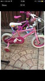 Girls 12inch bike