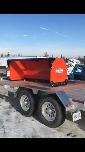 Horst 3500 series 8' snow pusher