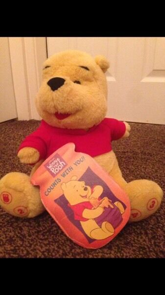 Winnie pooh learn to count interactive bear