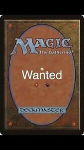 Looking for magic the gathering card collections