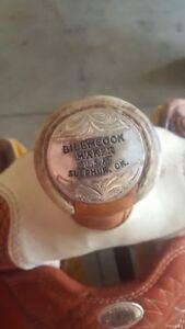 "Billy cook 16"" roping saddle"