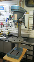 Busy Bee B032 Drill Press and Tooling
