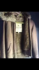 Abercrombie and Fitch fur lined jacket