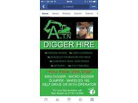 Digger & driver hire
