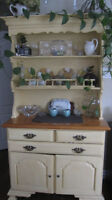 Solid Pine Hutch Base and Top