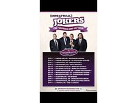 Impractical jokers tickets x2 - Glasgow NOW SOLD