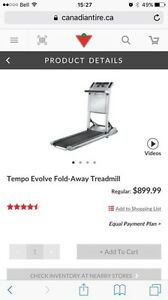 Tempo Evolve compact space saving treadmill for sale St. John's Newfoundland image 4